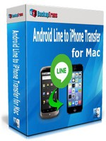 Backuptrans Android Line to iPhone Transfer for Mac (Family Edition) Coupon