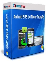 Backuptrans Android SMS to iPhone Transfer (One-Time Usage) Coupons
