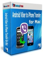 Backuptrans Android Viber to iPhone Transfer for Mac (Family Edition) Coupon