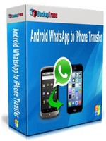 BackupTrans Backuptrans Android WhatsApp to iPhone Transfer (Family Edition) Coupon