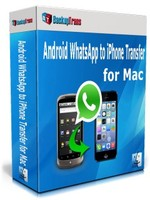 BackupTrans – Backuptrans Android WhatsApp to iPhone Transfer for Mac (Family Edition) Coupon Deal
