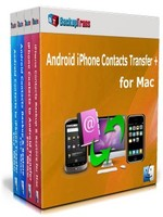 Backuptrans Android iPhone Contacts Transfer + for Mac (Family Edition) Coupon Code