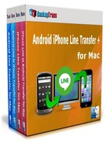 Backuptrans Android iPhone Line Transfer + for Mac (Family Edition) Coupon