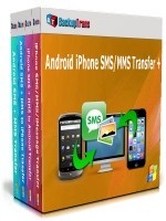 BackupTrans Backuptrans Android iPhone SMS/MMS Transfer + (Family Edition) Discount