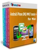 Backuptrans Android iPhone SMS/MMS Transfer + for Mac (Family Edition) Coupon