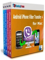 Backuptrans Android iPhone Viber Transfer + for Mac (Family Edition) Coupon Code