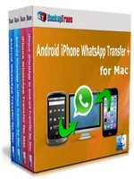 Backuptrans Android iPhone WhatsApp Transfer + for Mac(Business Edition) Coupon