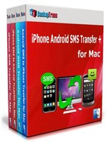 Backuptrans iPhone Android SMS Transfer + for Mac (Family Edition) Coupon