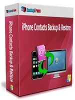 Backuptrans iPhone Contacts Backup & Restore (Personal Edition) Sale Coupon