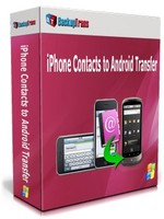 Backuptrans iPhone Contacts to Android Transfer (Family Edition) Coupon