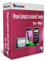 Backuptrans iPhone Contacts to Android Transfer for Mac (One-Time Usage) Coupon
