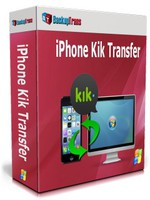 Backuptrans iPhone Kik Transfer (Personal Edition) – Exclusive Coupon