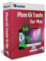 Backuptrans iPhone Kik Transfer for Mac (Personal Edition) Coupon