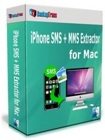 Backuptrans iPhone SMS + MMS Extractor for Mac (Family Edition) Coupon