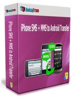 Backuptrans iPhone SMS + MMS to Android Transfer (Personal Edition) Coupon
