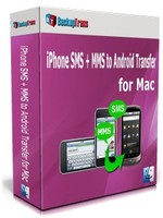 Backuptrans iPhone SMS + MMS to Android Transfer for Mac (One-Time Usage) Coupons