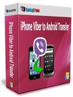 Backuptrans iPhone Viber to Android Transfer (Family Edition) Coupon Sale
