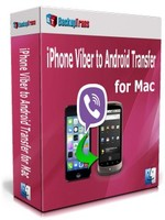 Backuptrans iPhone Viber to Android Transfer for Mac (Personal Edition) Coupon