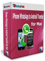 Backuptrans iPhone WhatsApp to Android Transfer for Mac(Family Edition) Coupon