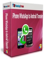 BackupTrans Backuptrans iPhone WhatsApp to Android Transfer(Family Edition) Coupon Code