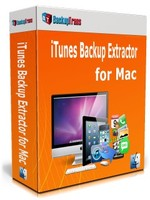 BackupTrans Backuptrans iTunes Backup Extractor for Mac (Business Edition) Coupon