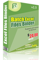 Window India – Batch Excel Files Binder Coupon Discount