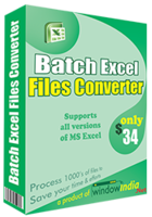Window India – Batch Excel Files Converter Coupon