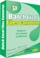 Window India Batch Excel Files Converter Coupon Sale