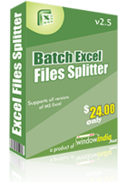 15% Batch Excel Files Splitter Coupon
