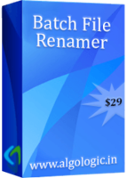AlgoLogic Batch File Renamer (5 Years License) Coupon
