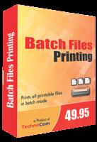 Technocom Batch Files Printing Coupon Code
