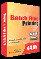 Batch Files Printing Coupon
