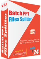 Batch PPT Files Splitter – Exclusive 15 Off Coupon