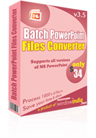 Special Batch PowerPoint File Converter Coupon Code