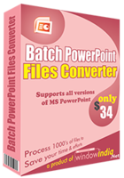 Batch PowerPoint File Converter – Exclusive 15% off Discount
