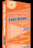 Batch PowerPoint Files Binder – 15% Sale