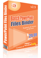 Batch PowerPoint Files Binder Coupon