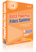 Batch PowerPoint Files Splitter – Special Coupon
