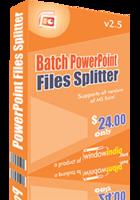 Batch PowerPoint Files Splitter – 15% Discount