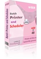 TheSkySoft Batch Printer and Scheduler Coupon Sale