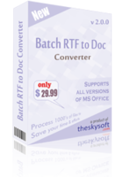 Batch RTF to Doc Converter Coupon