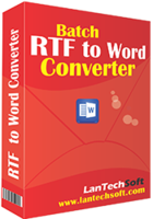 Unique Batch RTF to Word Converter Coupon Discount