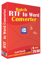 Batch RTF to Word Converter – 15% Off