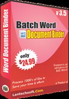 Exclusive Batch Word Document Binder Coupon Sale
