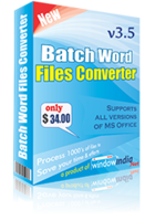 Batch Word Files Converter Coupon