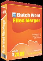 Batch Word Files Merger Coupon Code