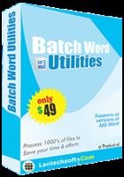 15% Off Batch Word Utilities Coupon