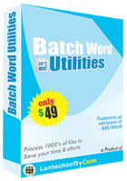 Batch Word Utilities Coupon