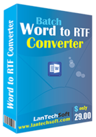 Batch Word to RTF Converter – Exclusive 15% Off Coupon