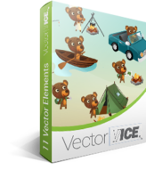 Bear Vector Pack – VectorVice Coupon 15% Off